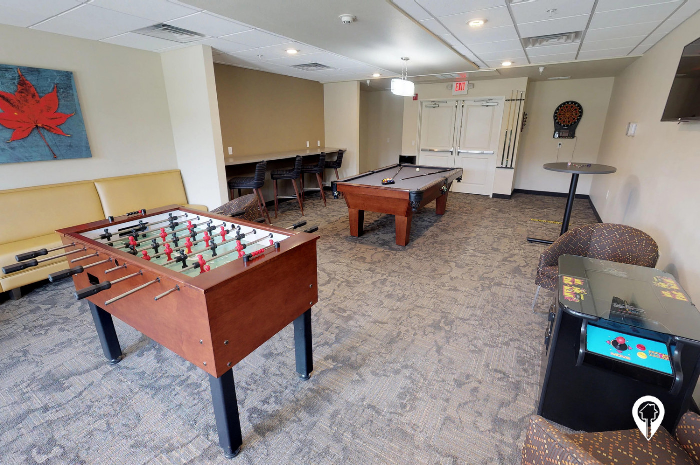 Cardinal-Point-Apartments-Private-Games-Lounge