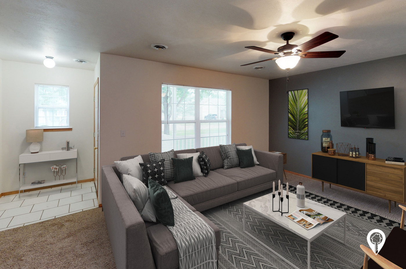 The-Gables-Townhomes-Bright-open-living-spaces